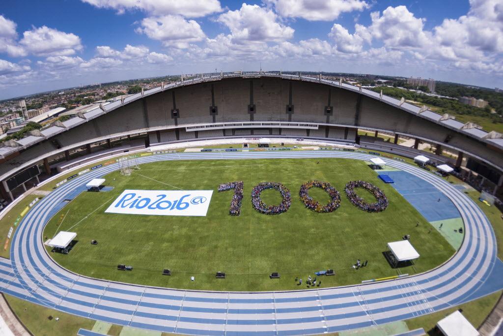 Contagem regressiva para os Jogos do Rio