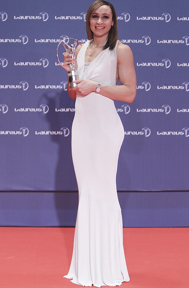 No Rio, a britânica Jessica Ennis, do heptatlo, recebe o Laureus como melhor atleta feminina de 2012