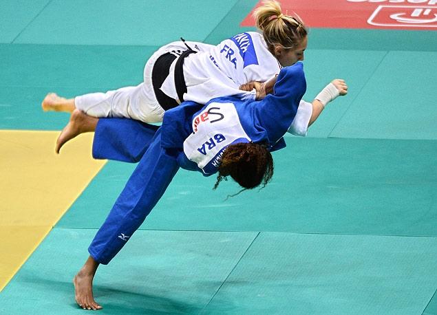Rafaela Silva é a atual campeão mundial no peso leve