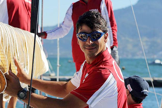 O velejador André Fonseca, o Bochecha, que será o único brasileiro a participar da Volvo Ocean Race 2014/2015 (Crédito: Flávio Perez/Divulgação)