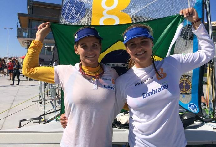 Martine (à esq.) e Kahena já são consideradas favoritas à medalha na Rio-2016