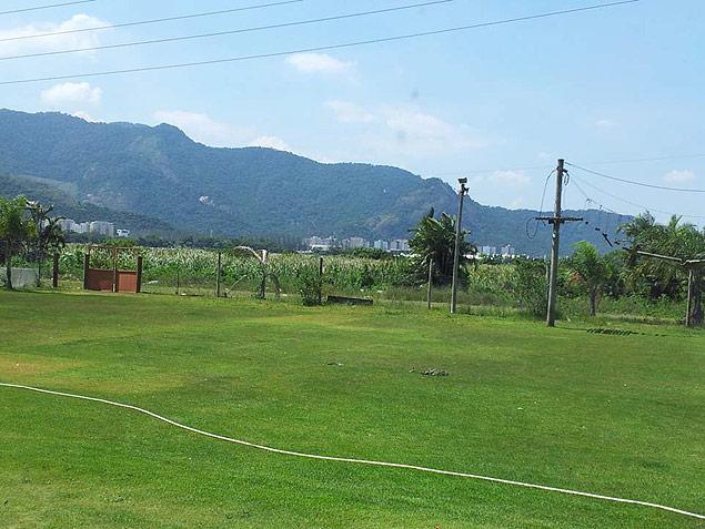 Área onde serão erguidas instalações do centro de treinamento australiano (Crédito: Divulgação)