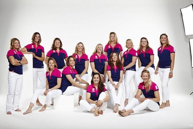 A equipe SCA, que disputa a Volvo Ocean Race, composta apenas de mulheres (Crédito: Jon Davis)