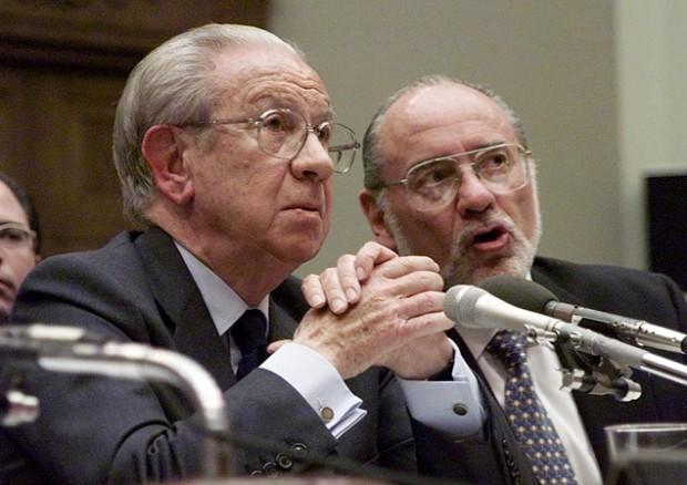 O ex-presidente do COI, Juan Antonio Samaranch, durante audiência em Washington em dezembro de 1999; Samaranch morreu em 2010 (Crédito: Joe Marquette - 15.dez.1999/Associated Press)