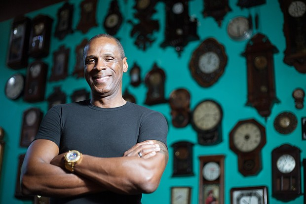 O ex-atleta Robson Caetano, em foto de 2013 (Crédito: Cecilia Acioli/Folhapress)