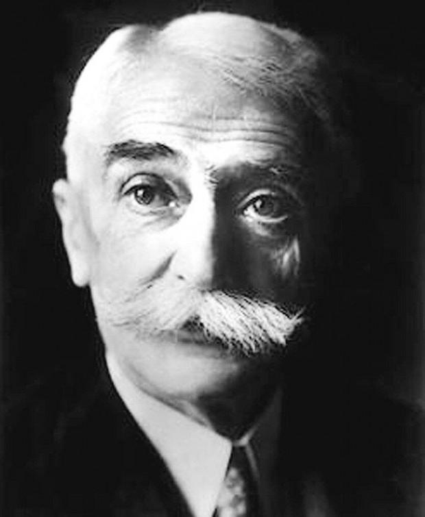O francês Pierre de Coubertin, fundador do Comitê Olímpico Internacional (Crédito: Reprodução)
