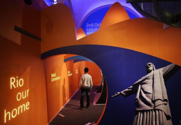 Casa Brasil montada em Londres, em 2012  (Lalo de Almeida/Folhapress)