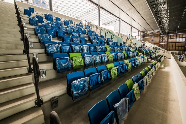 Arena da Juventude, em Deodoro (Renato Sette Camara/Prefeitura do Rio)