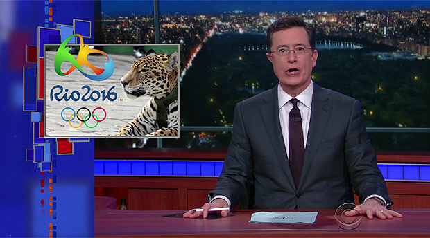 """""""Late Show with Stephen Colbert"""" (Reprodução)"""