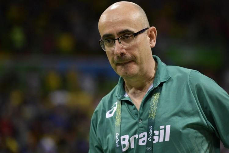 Jordi Ribera durante os Jogos do Rio (Javier Soriano/AFP)